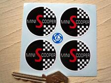 MINI COOPER S Parte Centrale Ruota adesivi per auto 38mm Austin Morris