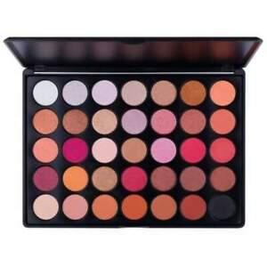 Crush Cosmetics 35F Whites Browns Pinks Eyeshadow Palette 56.2g discontinued bra