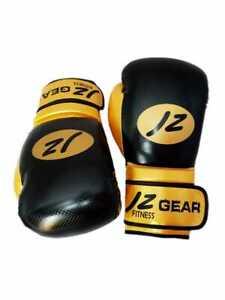 Boxing Gloves MMA Sparring Adult Punching Bag KickBoxing Muay Thai Training 12oz