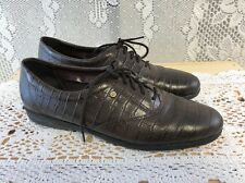 EASY SPIRIT Womens Shoes Anti Gravity Motions Leather Lace Up Sz 8, EUC