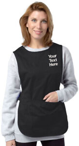 Embroidered/Personalised POCKET TABARD, 7 Colours, Size S - 2XL, Work/Home
