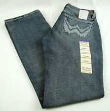 Womens Wrangler Q-BABY WRQ20WL Boot Cut Mid Rise Stretch Jeans Size 0 x 34