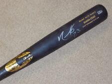 Nelson Cruz Maple Chandler Game Used Signed Bat Seattle Mariners MLB