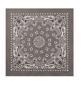 NEW! Rothco Trainmen Paisley Bandana 22 Inches by 22 Inches Scarf Cotton