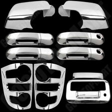 For Ford Explorer 07 08 09 Chrome Covers Mirrors 4 Door w/ KH Tailgate Taillight