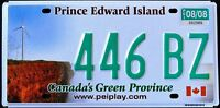 "CANADA "" PRINCE EDWARD ISLAND - WINDMILL "" PEI Graphic License Plate"