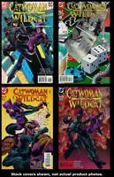 Catwoman/Wildcat 1 2 3 4 DC 1998 Complete Set Run Lot 1-4 VF/NM