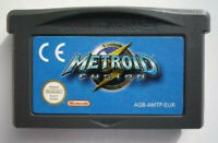 Metroid Fusion For Nintendo Video Game Boy Advance GBA Consoles Video Game Cards