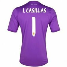 Real Madrid CF Goalkeeper Home Shirt 2013/14 Iker Casillas 1 Adidas  152/ 11-12Y