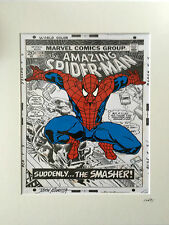 Spider-Man - Idea 2 - Marvel Comics - Hand Drawn & Hand Painted Cel