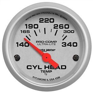 AutoMeter 4336 Ultra-Lite Electric Cylinder Head Temperature Gauge