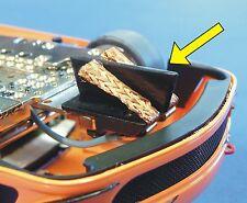 2-STÜCK LEITKIEL RACE tiefer Schaft 9mm für SCALEAUTO Fahrzeuge & MINI-Z   2790A