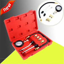 9Pcs Spark Plug Cylinder Compression Tester Test Kit Professional Gas Engine USA