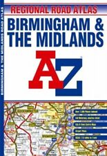 Midlands Regional Road Atlas (A-Z Road Maps... by Geographers' A-Z Map Paperback