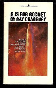 R is for Rocket Ray Bradbury (Paperback, 1974)