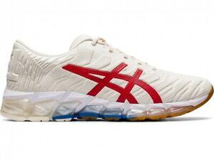 Asics Sport Style Running Shoes GEL-QUANTUM 360 5 1021A291 Cream/Classic Red