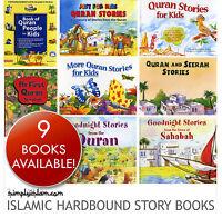 Childrens Islamic Quran Story Books Collection Set - Best Kids Hardback Books