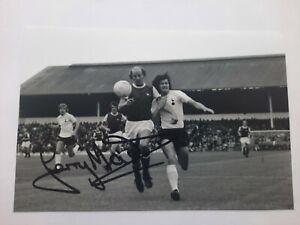 Terry Mancini Signed Arsenal 6x4 Photo Football Autographs