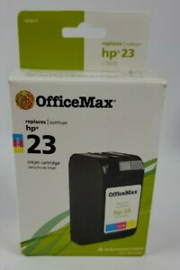 OfficeMax Remanufactured Tri-Color Ink Cartridge Replacement for HP 23 (C1823D)