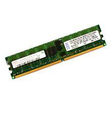 1gb Hynix HYMP 512r72bp4-e3 pc2-3200r cl3 linguetta memoria RAM * con fattura *