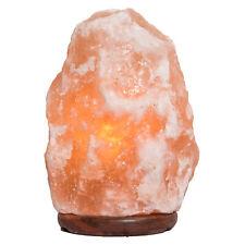 Salz Kristall Stein Lampe Salzlampe Leuchte 4 - 6 kg - in Premiumqualität Biova