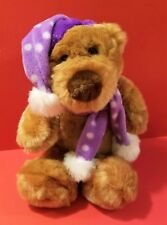"New 11"" Winter Teddy Bear Stuffed Plush Cute Toy Animal"