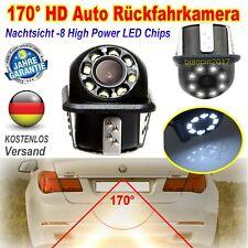 Auto KFZ Rückfahrkamera 170 ° 8LED CCD IR Einparkhilfe Nachtsicht  für VM BMW DE