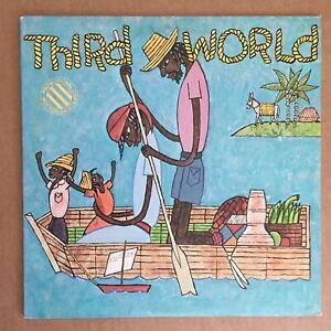 Third World Journey to Addis LP ILPS-9554 1st Edition Sterling Promo Stamp EX/EX