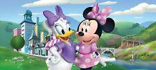 Wandbild Tapete Minnie Mouse 202x90cm Kinderzimmer Groß Panoramisch