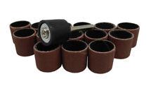 """15pc 1/2"""" 12.5Mm 320 Grit Drum Sanding Sleeves Wood, Metal, Nails, 4 Dremel etc"""