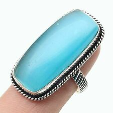 Ring Size 7.5 Us T2893 Monalisa Woman Jewellery Silver Plated Gemstone