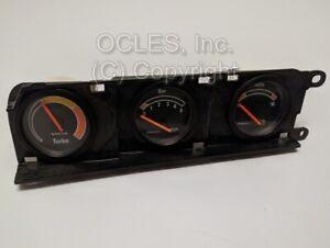 Used Volvo Supplemental gauge set (Short yellow sweep turbo) 240 Turbo