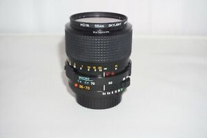 Minolta MD Zoom 35-70 mm f/3.5 (MD-III) with Macro - Mint condition - Post Free