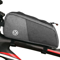 Bicycle Bag Waterproof Cycling Top Front Tube Frame Bag MTB Road Bike Pannier
