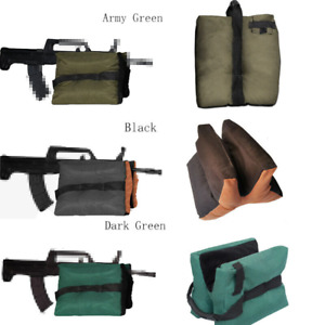 3 Colors Shooting Rest Bag Hunting Gun Rear Bench Rest Stand Outdoor Sand Bag