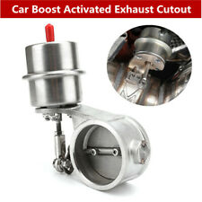 """2"""" 51mm Exhaust Control Valve Vacuum Actuator Open Style Cutout Downpipe 1 BAR"""