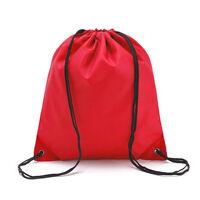 Drawstring Book Bag Sport Gym Swiming PE Dance Shoe Backpack Travel Pouch