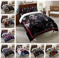 3D Halloween Bedding Set Quilt Duvet Cover Pillowcase Horror Bedroom 2PCS/3PCS *