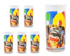 6er Set Wasserglas Face Tatoo Saftglas Wassergläser Saftgläser Glas Fussballglas