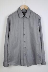 HUGO BOSS ENZO REGULAR FIT Men's (US) 44 or ~X LARGE* Formal Shirt 38263_GS