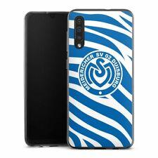 Samsung Galaxy A30s Handyhülle Silikon Hülle Case Blaues Zebra MSV