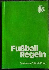Fußball Regeln - Deutscher Fußball-Bund 1978/79