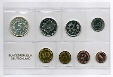 1Pf. bis 5 DM 1969 J, PP Deutschland / BRD / Kurssatz Auflage nur 5000 Stück