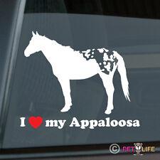 I Love my Appaloosa Sticker Die Cut Vinyl Ver 3 Stock Horse