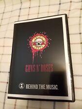 GUNS 'N ROSES - DVD Behind Music - band documentary - Rare PROMO