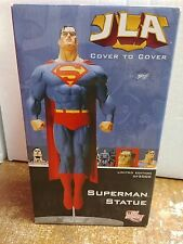 DC Direct Superman Statue JLA Cover To Cover Justice League