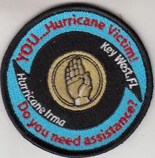 TACRON 22 YOU....HURRICANE VICTIM! KEY WEST, FL. SHOULDER  PATCH