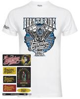 Exile Cycles Menace Motorcycle Biker T Shirt Official Mercandise Mens /& Cap Set