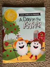 2018 A Day on the Farm Eggy, Shelly Commemorative Easter Egg Roll Coloring Book