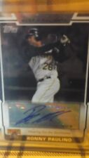 2008 Topps Highlights RONNY  PAULINO AUTO PITTSBURGH   PIRATES